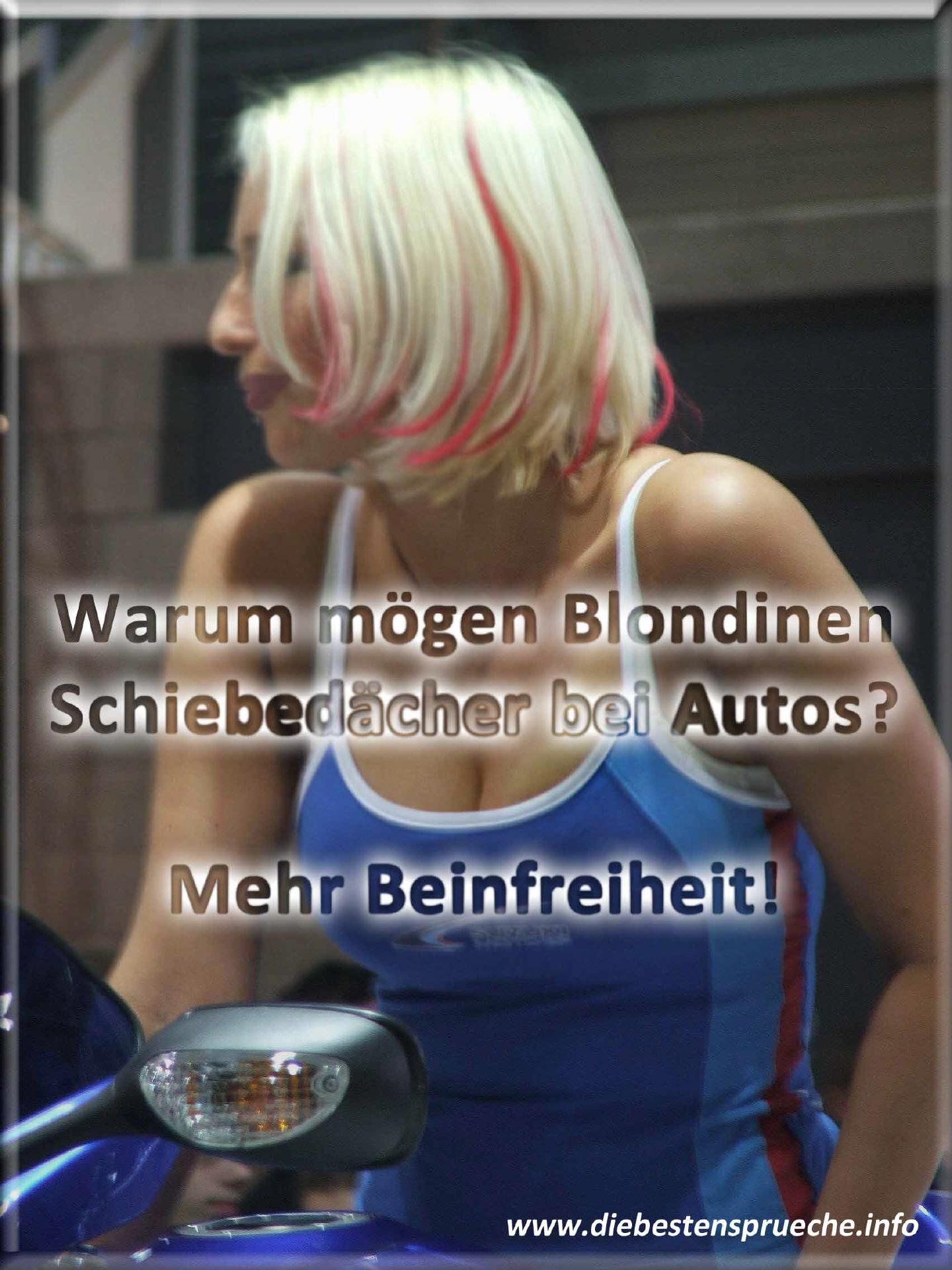 Blondinensprüche